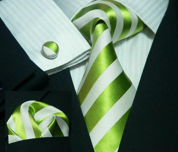 Slipsset-335-Grön